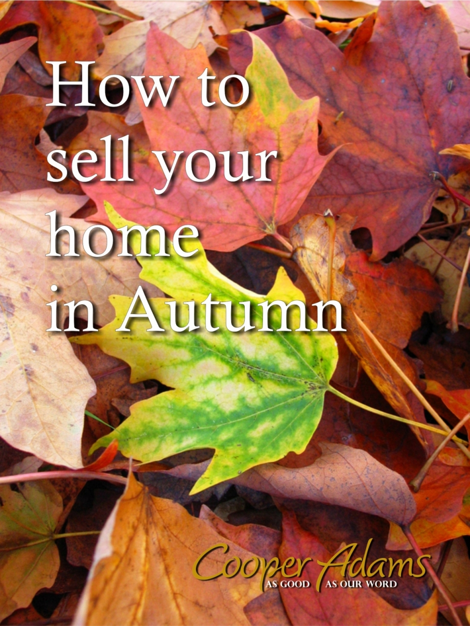 How to sell your home in a...