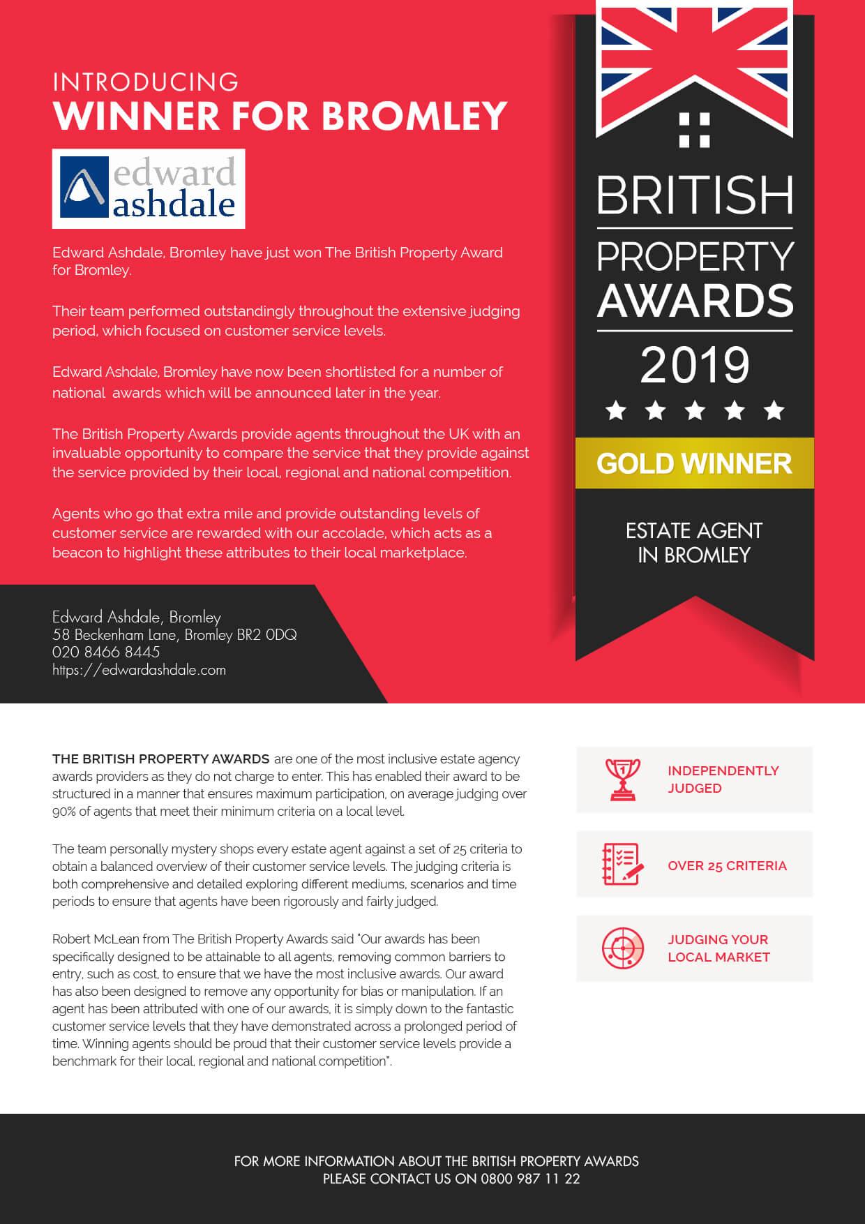 British Property Awards 2019