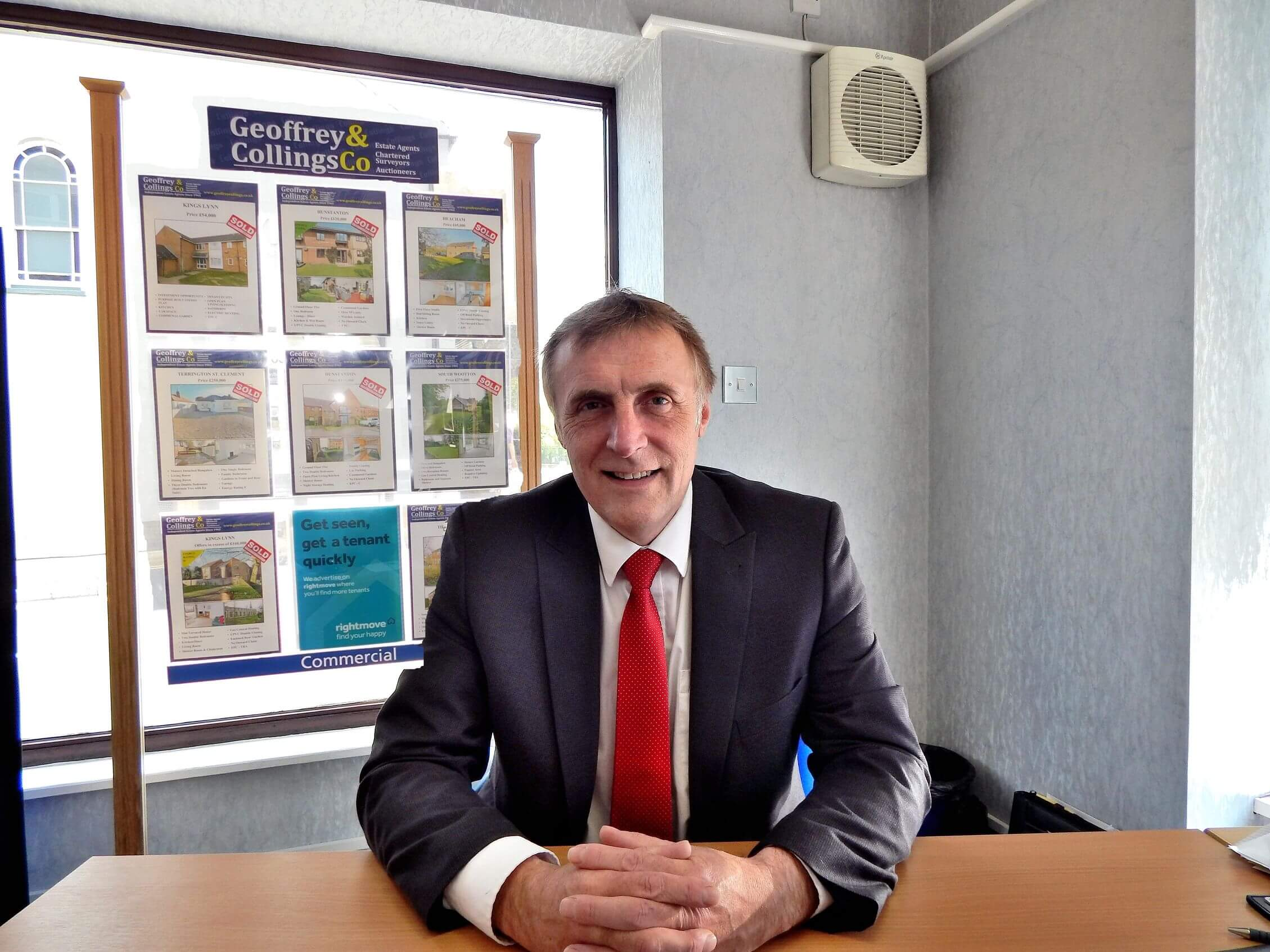 Residential Sales Manager David Irving