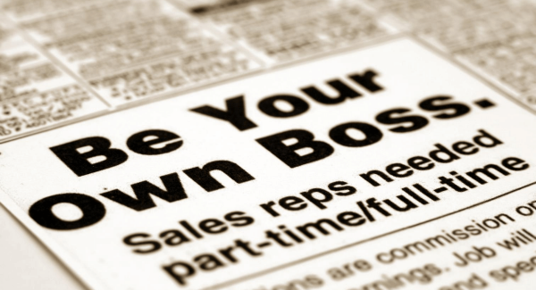 Vacancies - Be your own boss