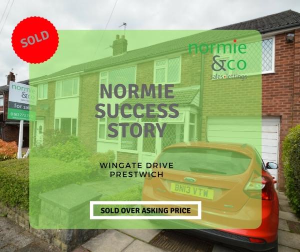 Wingate Drive, Prestwich - Normie Success Story