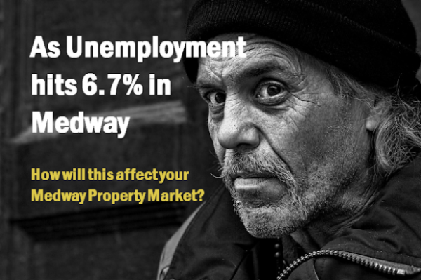 As Unemployment Hits 6.7% in Medway, What Effect Will This Have on the Medway Pr