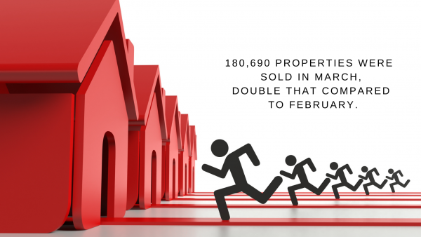 Property market breaking records for sales!