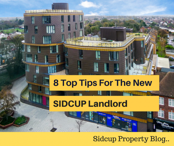 8 Top Tips For The New Sidcup Landlord - a must read!