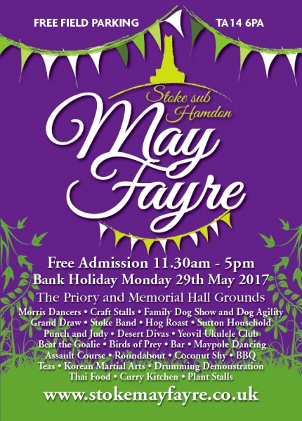 Stoke May Fayre - 29th May 2017