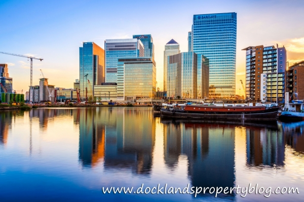 79.0% of all Properties Sold in Docklands are New Builds