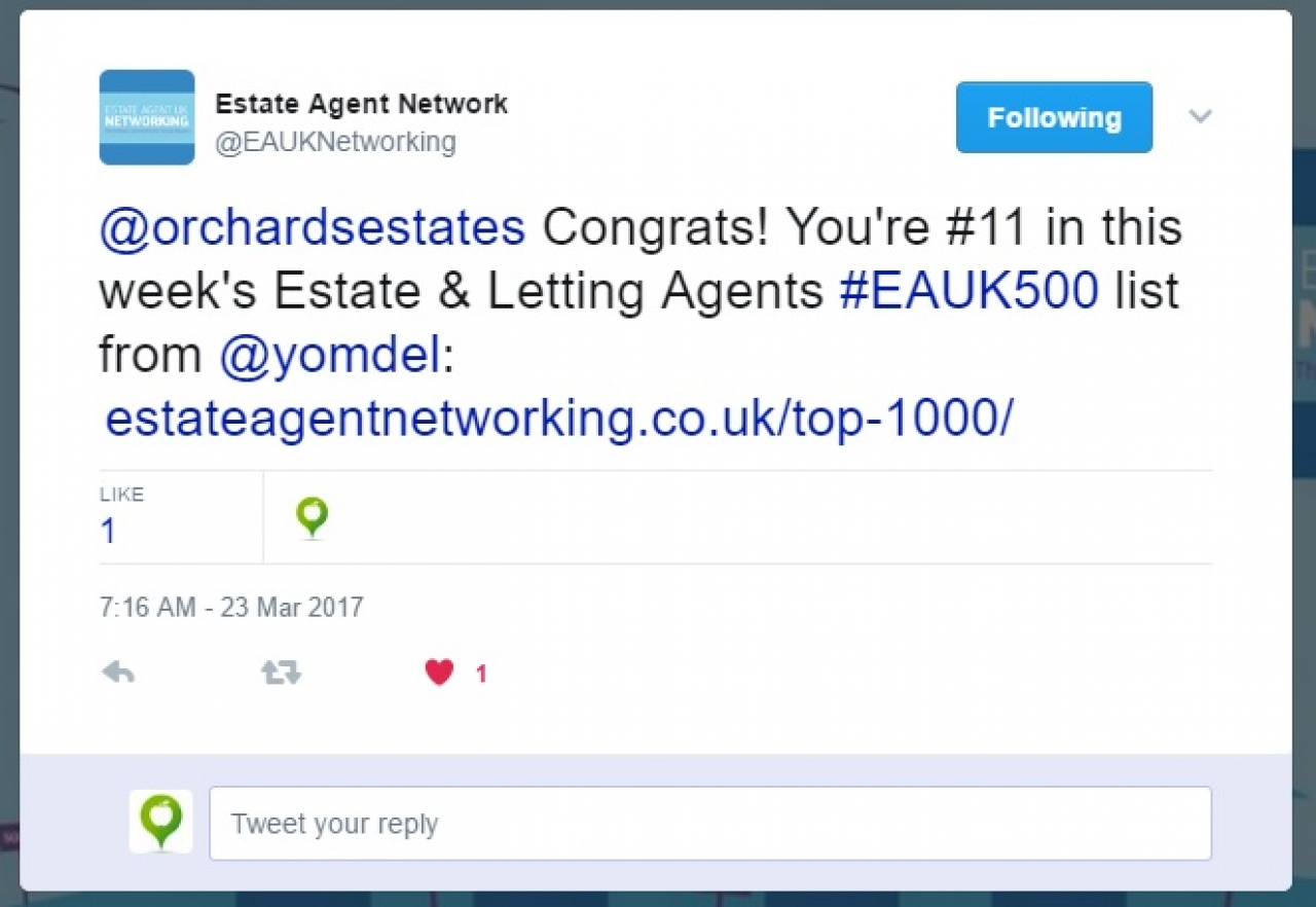 >Top estate agent