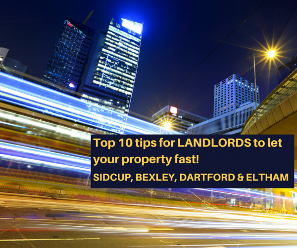 Top 10 tips to let your property in just days