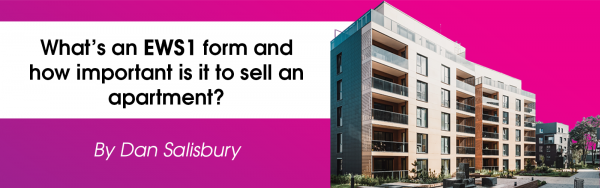 What's an EWS1 form and how important is it to sell an apartment?