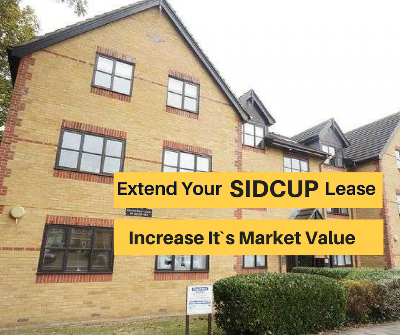 >Extend Your SIDCUP Lease -...