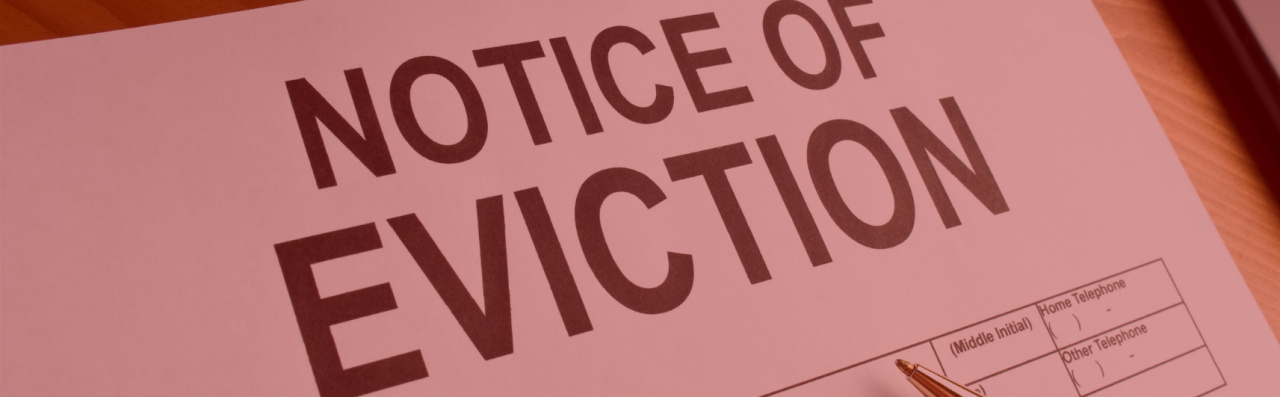 Update to eviction notice timescales from 1 June
