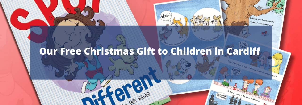 >Our Free Christmas Gift to Children in Cardiff
