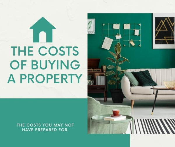 The costs of buying a property.