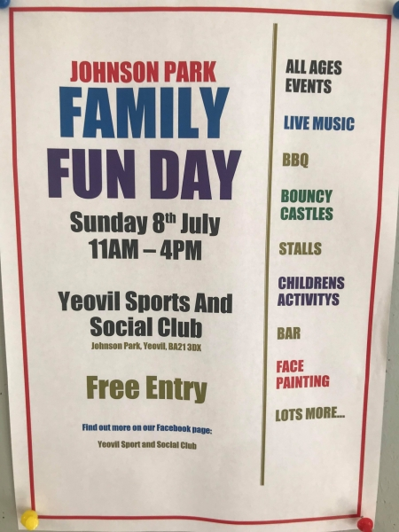 Community Fun Day - Johnson Park - Yeovil