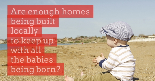More Than Seven Babies Born for Every New Home Built in the Past Five Years in B