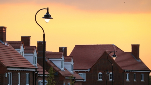 June sunset on property market