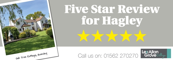Five Star Review for Hagley Office