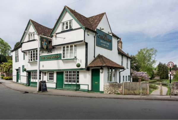 Win a meal for two at the Chequers in Loose!