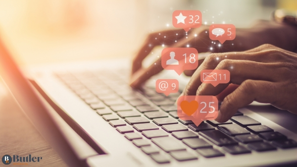 What social media tells you about an estate agent