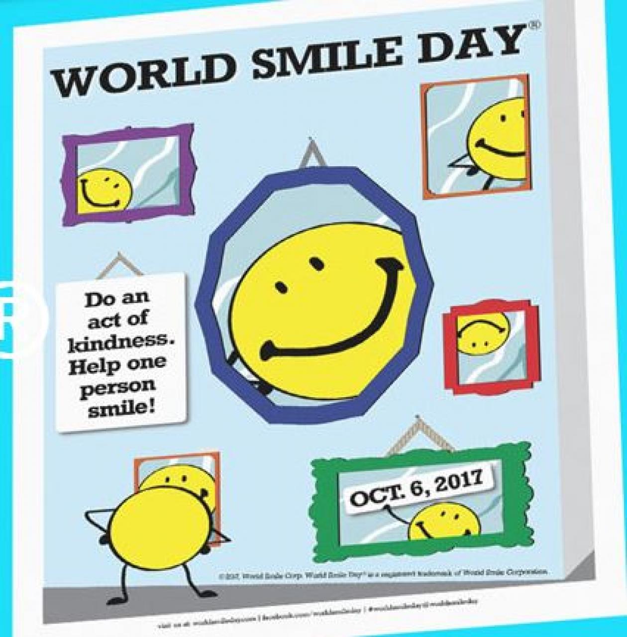 #WorldSmileDay