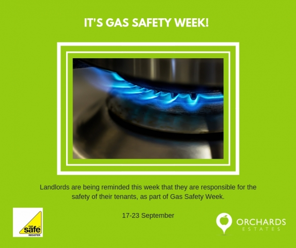 Gas Safety Week 17-23 September