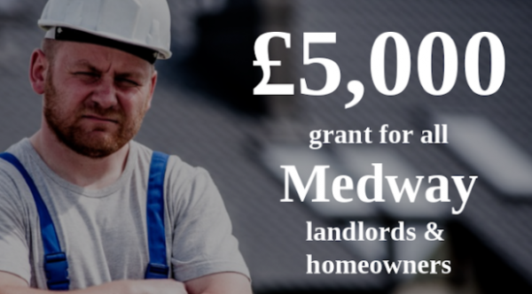 Every Medway Homeowner & Landlord to Receive up to £5,000 Grant for Roof Insulat