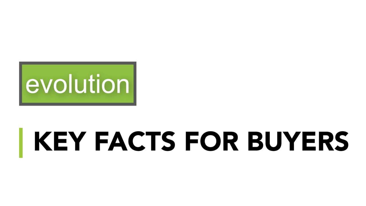 >Key facts for buyers' rep...