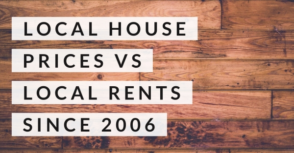 Sidcup House Prices vs Sidcup Rents since 2006