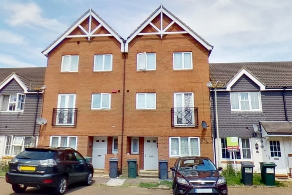 4 bed terraced house for sale in Bryony Drive, Park Farm, Ashford