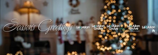 Season's Greetings from Lex Allan and Lex Allan Grove