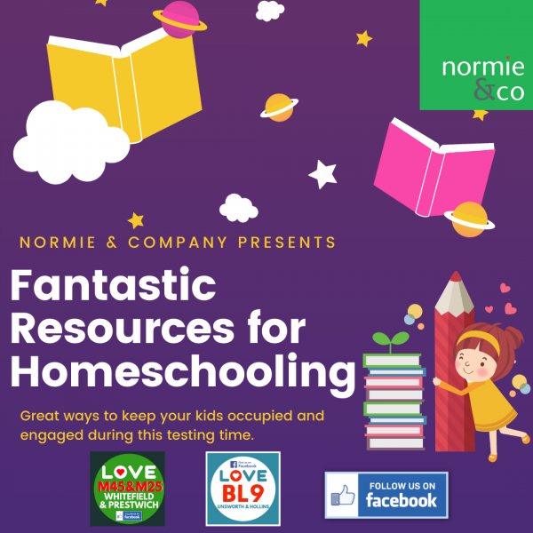 Homeschooling ideas and free resources for families in North Manchester