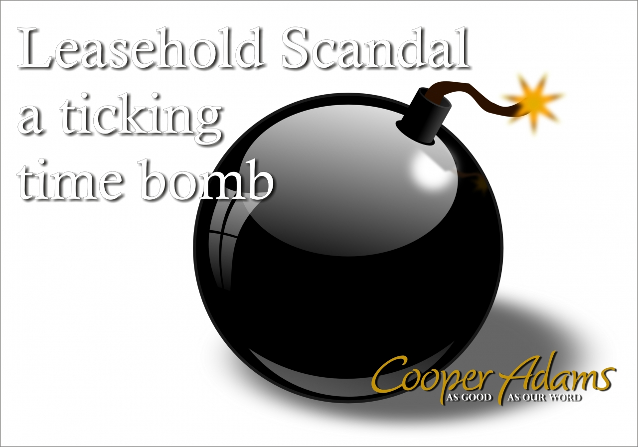 Leasehold Scandal a tickin...