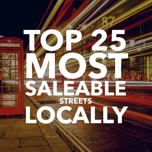 Top 25 Most Saleable Streets in Sidcup