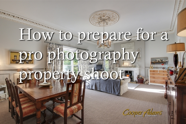 How to prepare for a pro photography property shoot