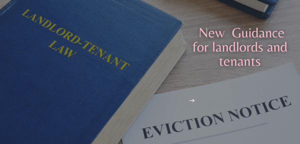 New  Guidance for landlords and tenants