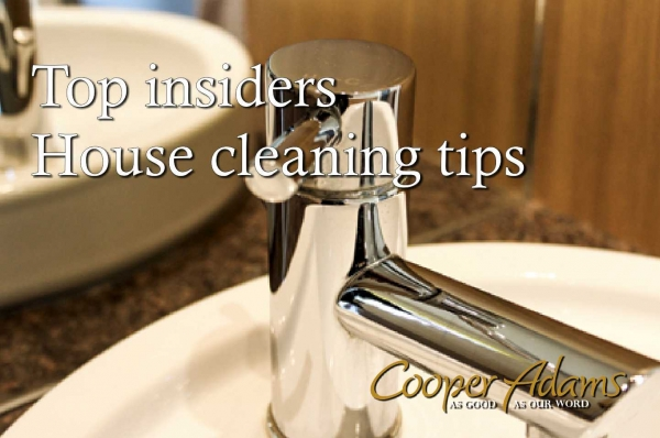 Top insiders house cleaning tips