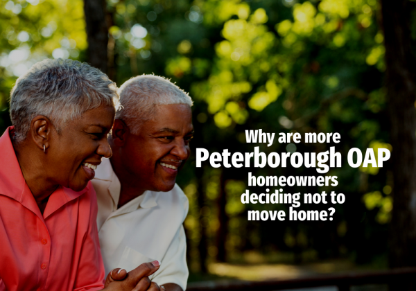 Why Are More Peterborough OAP Homeowners Deciding Not to Move Home?