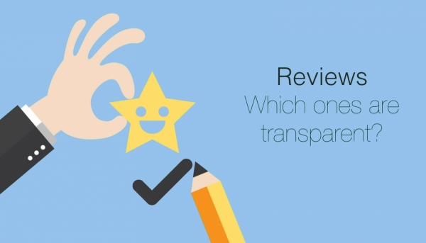 Transparent reviews