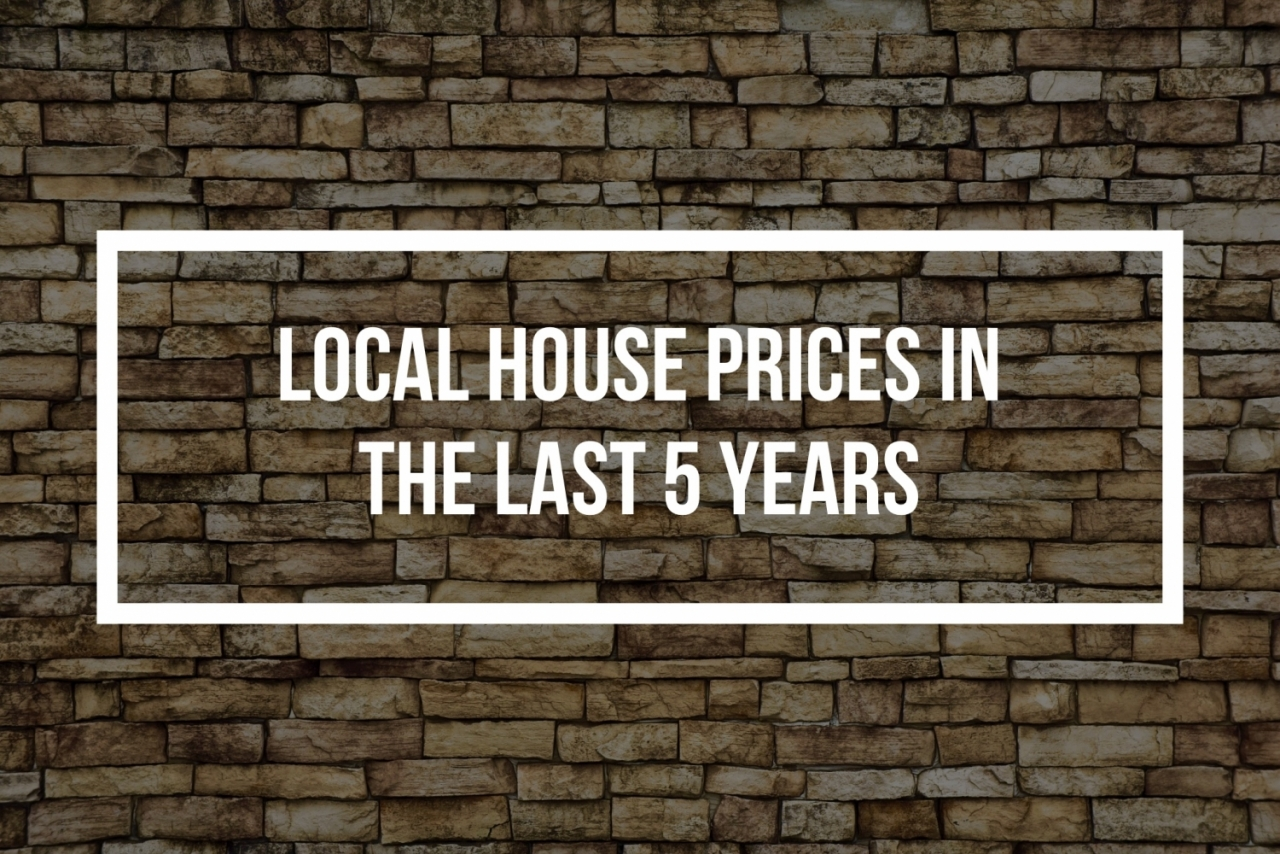 >SIDCUP HOUSE PRICES UP 35.5% IN THE LAST 5 YEARS