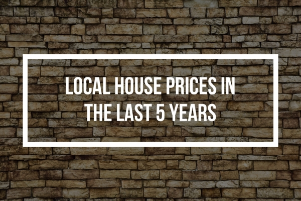 SIDCUP HOUSE PRICES UP 35.5% IN THE LAST 5 YEARS
