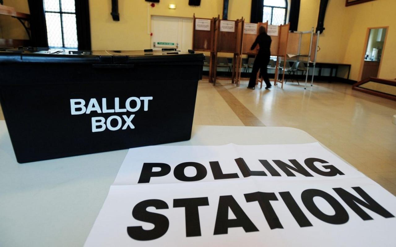 >General Election Ballot box