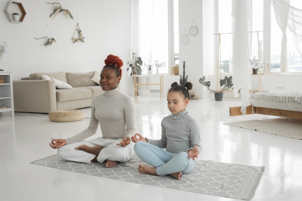 How do you create peace and quiet at home?