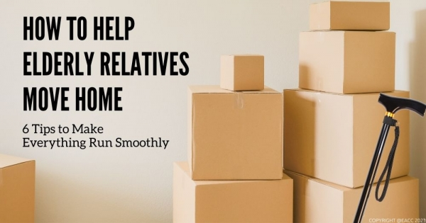 How to Help Elderly Relatives Move Home in Neath