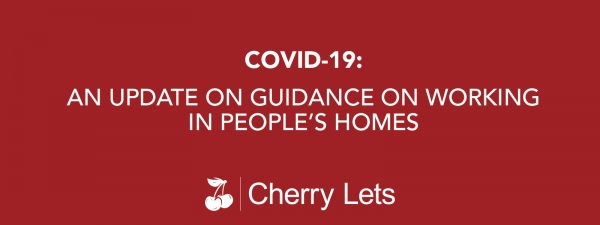 An update on guidance on working in people's homes