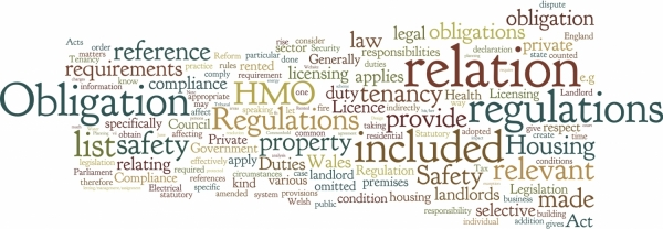 Statutory regulations affecting the Private Rented Sector