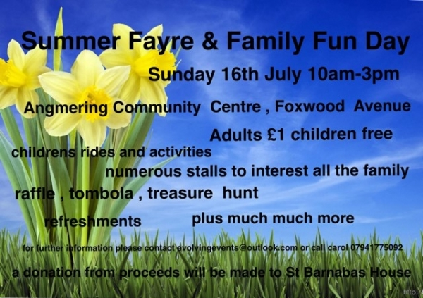 Angmering Village Pre-school Summer Fair