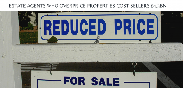 Estate agents who overprice properties cost sellers £4.3bn