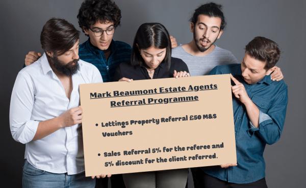 Mark Beaumont Estate Agents Referral Programme