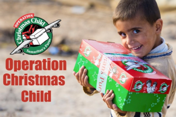 The Samaritan's Purse Operation Christmas Child