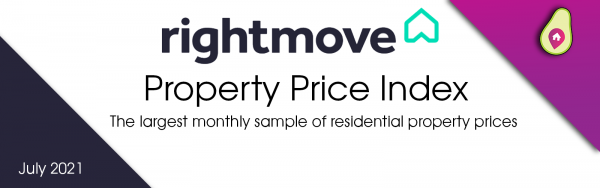 July Rightmove House Price Index